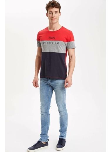 DeFacto T-Shirt Kırmızı